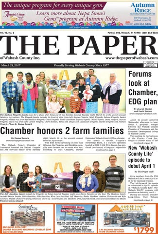 67738c90 The Paper of Wabash County - March 29, 2017, Issue by The Paper of ...