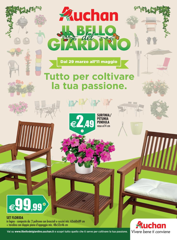 Auchan italia il bello del giardino 2016 by stefano for Salottini esterno