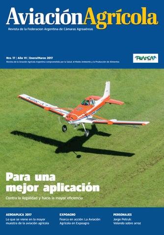 Aviación Agrícola - Ed. Nº 17