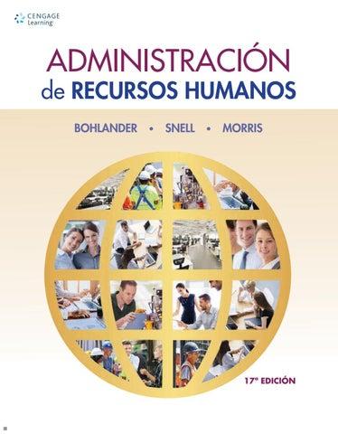 Resultado de imagen para Administración de recursos humanos. - 17a edición