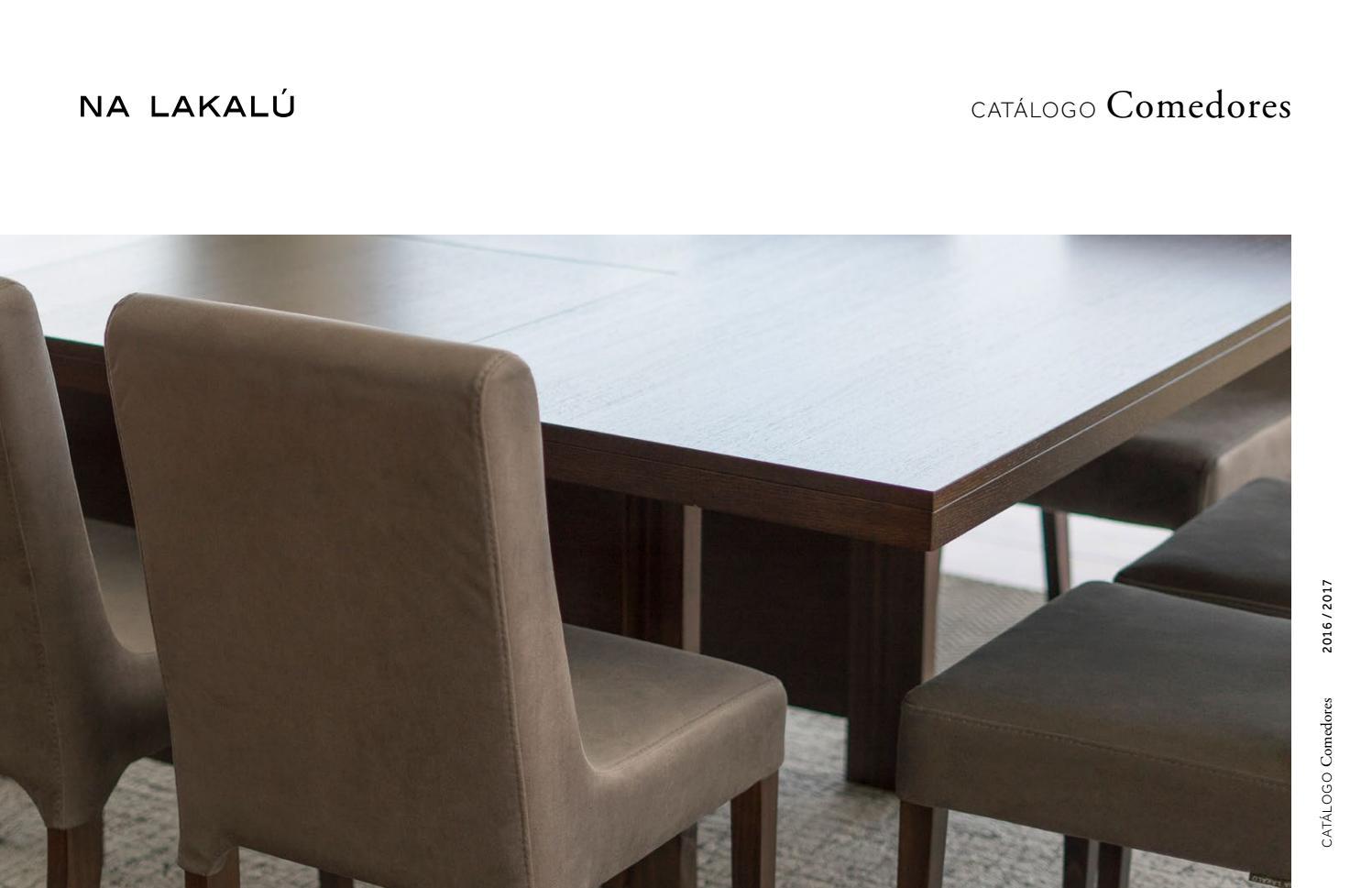 Na Lakalú - Catálogo de comedores by Na Lakalu Solutions ...