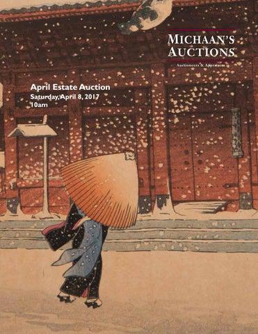 95af3c521bd1a April Estate Auction catalog by Michaan's Auctions - issuu