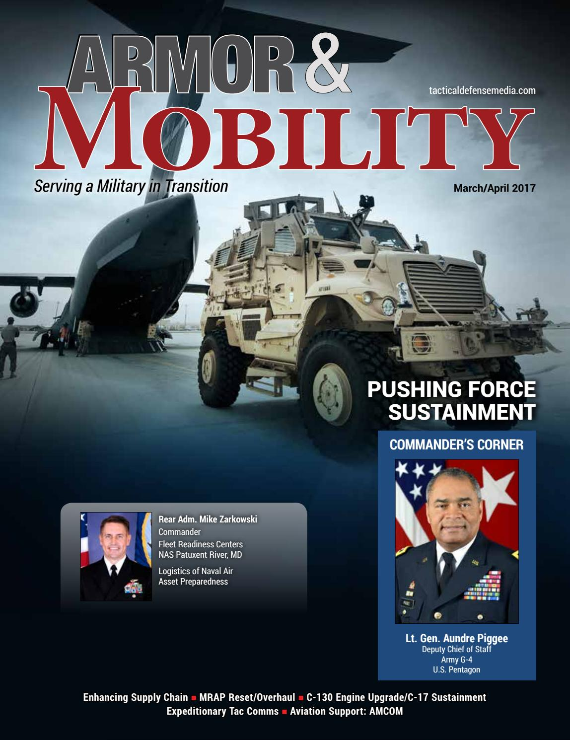 Armor & Mobility March/April 2017 by Tactical Defense Media