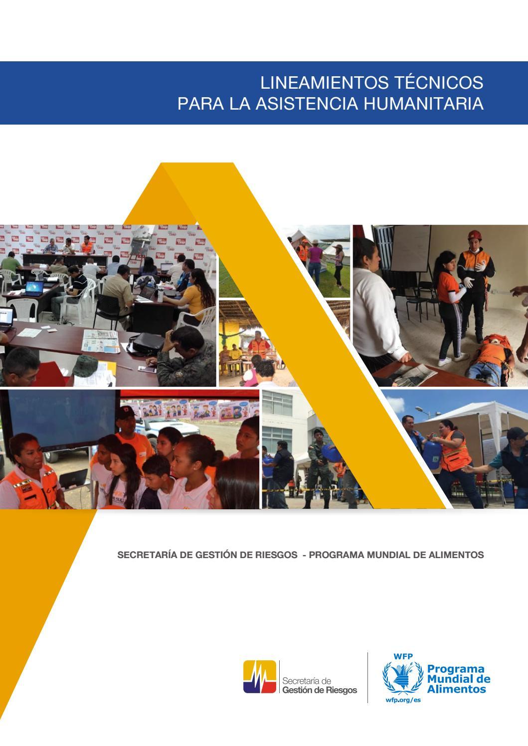 Lineamientos técnicos asistencia humanitaria. by Andres Ruiz ...