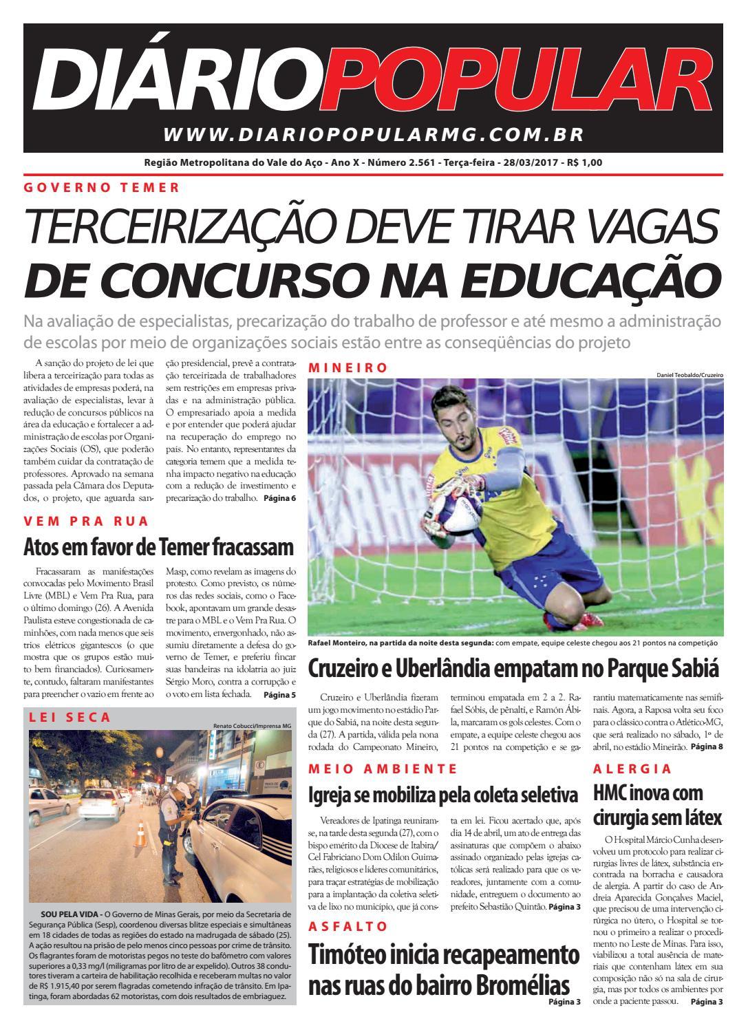 28 03 2017 by Jornal Diário Popular - issuu 43fe23af7aa65