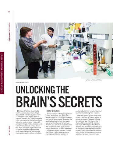 Page 12 of Pharmacy Faculty Excel in research