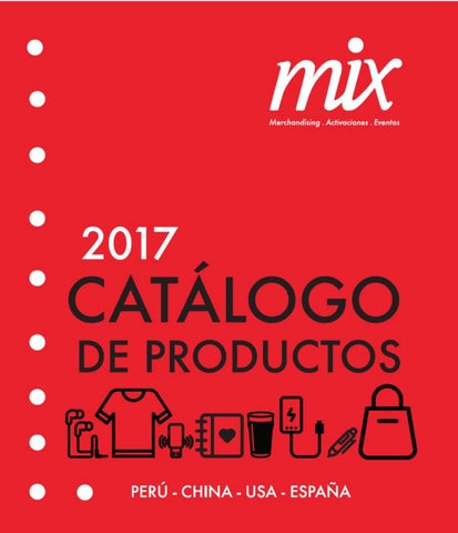 46a4fafba3a Catalogo de productos 488-975 by Mix Marketing - issuu