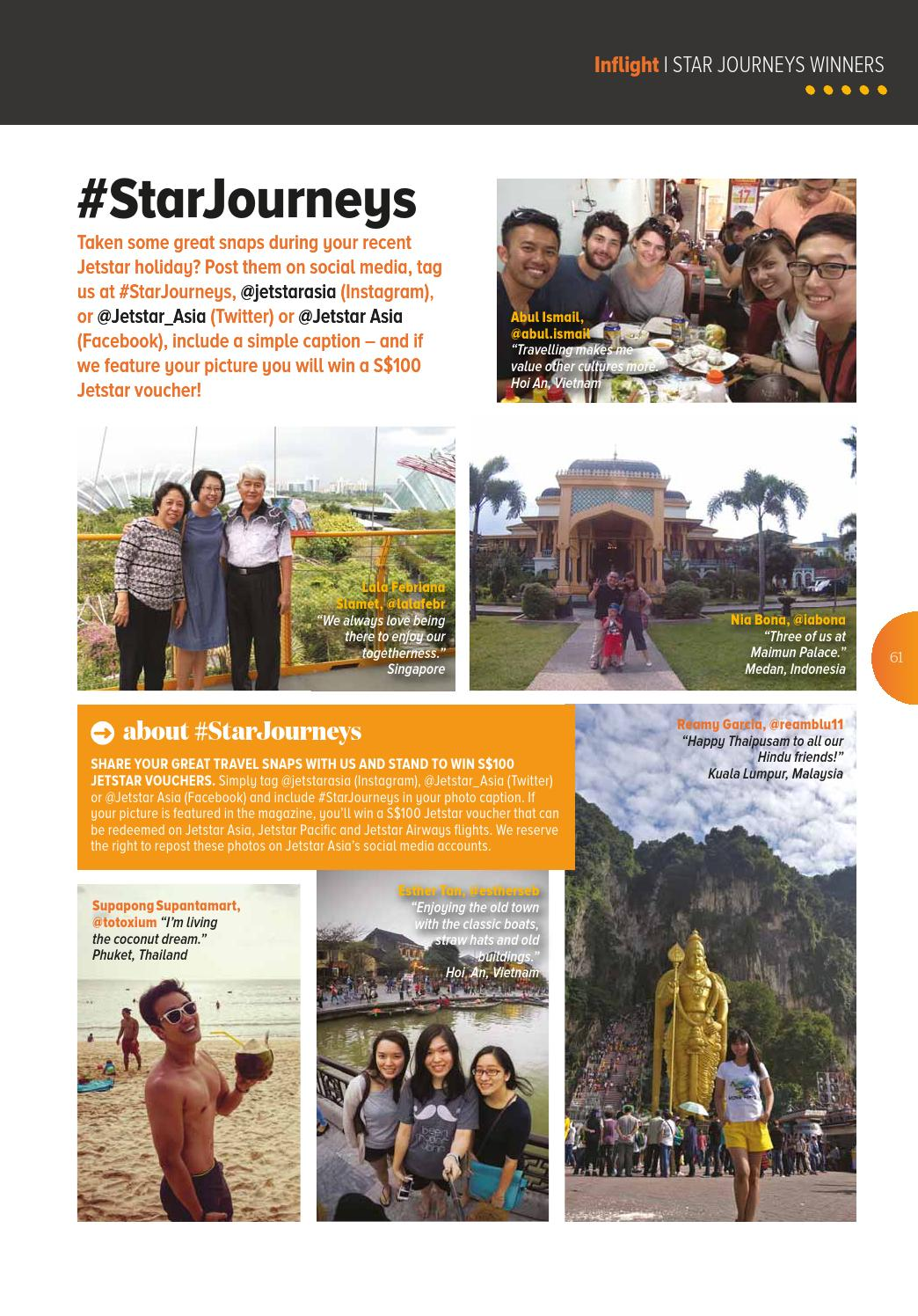 Jetstar Asia April 2017 By Hgm Issuu Like Instagram 100 Real Indonesia