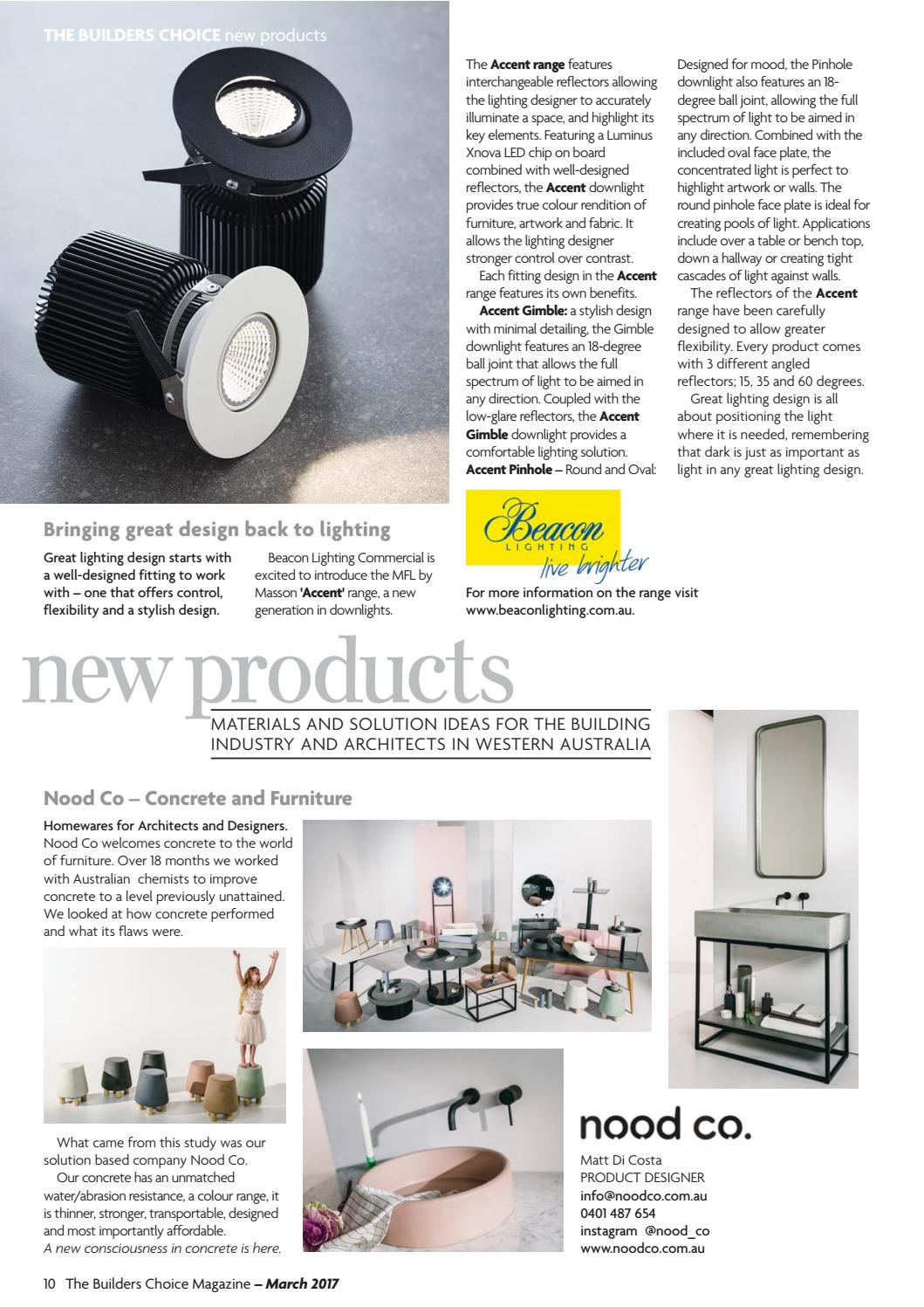 Builders Choice March Magazine 2017 By The
