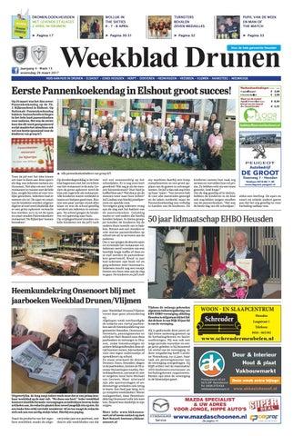 f173e9c4d69 Weekblad Drunen 29-03-2017 by Uitgeverij Em de Jong - issuu