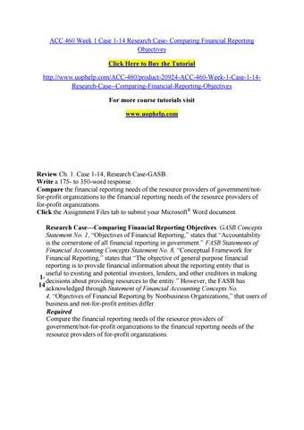 Fundamentals of Financial Analysis
