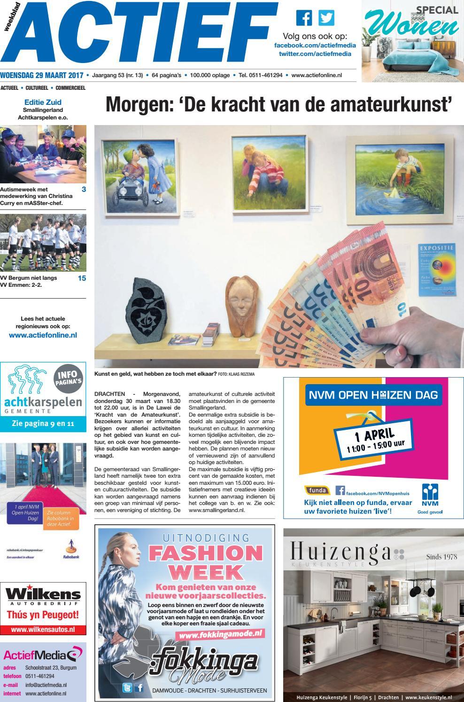e2cb7ed20d3337 Weekblad Actief - Editie Zuid - week 13 by Weekblad Actief - issuu
