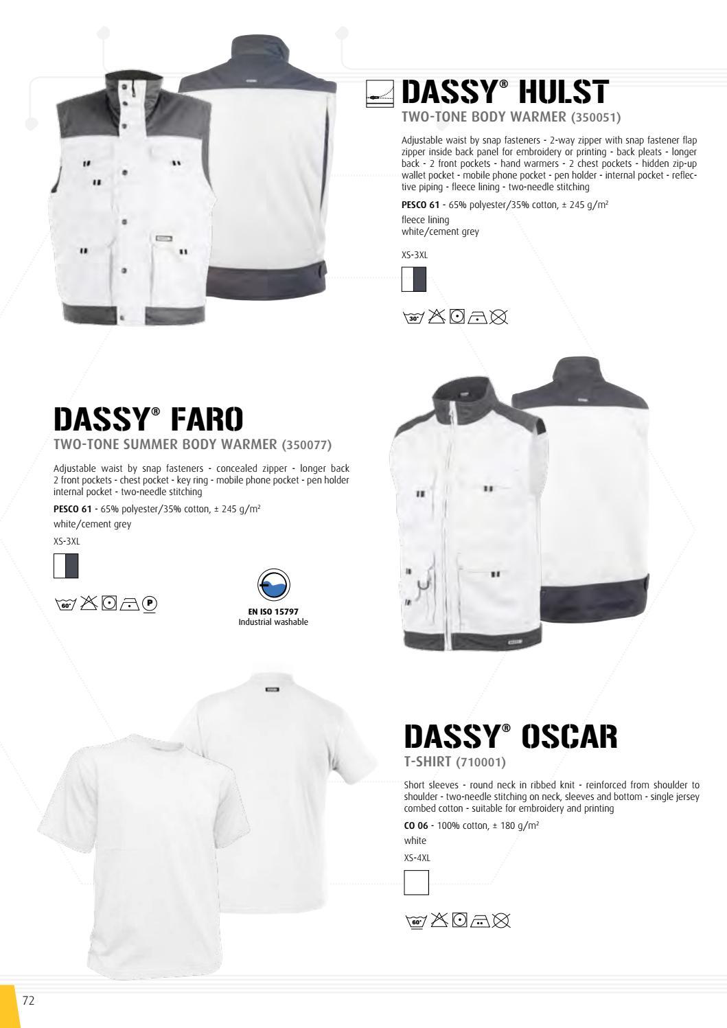 76d44745 Brochure Dassy, professional workwear by Zijlstra Beroepskleding - issuu