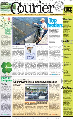 Kern River Courier March 17 2017 By Kern River Courier Issuu