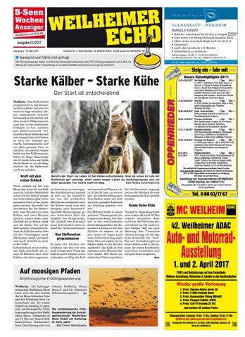 KW 13-2017 by Wochenanzeiger Medien GmbH - issuu
