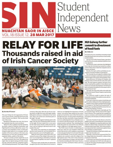 Student Independent News Issue 12 #Vol18 by Student