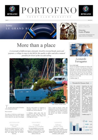 competitive price 6036d 53180 Yacht Club Portofino Magazine by Milano Fashion Library - issuu