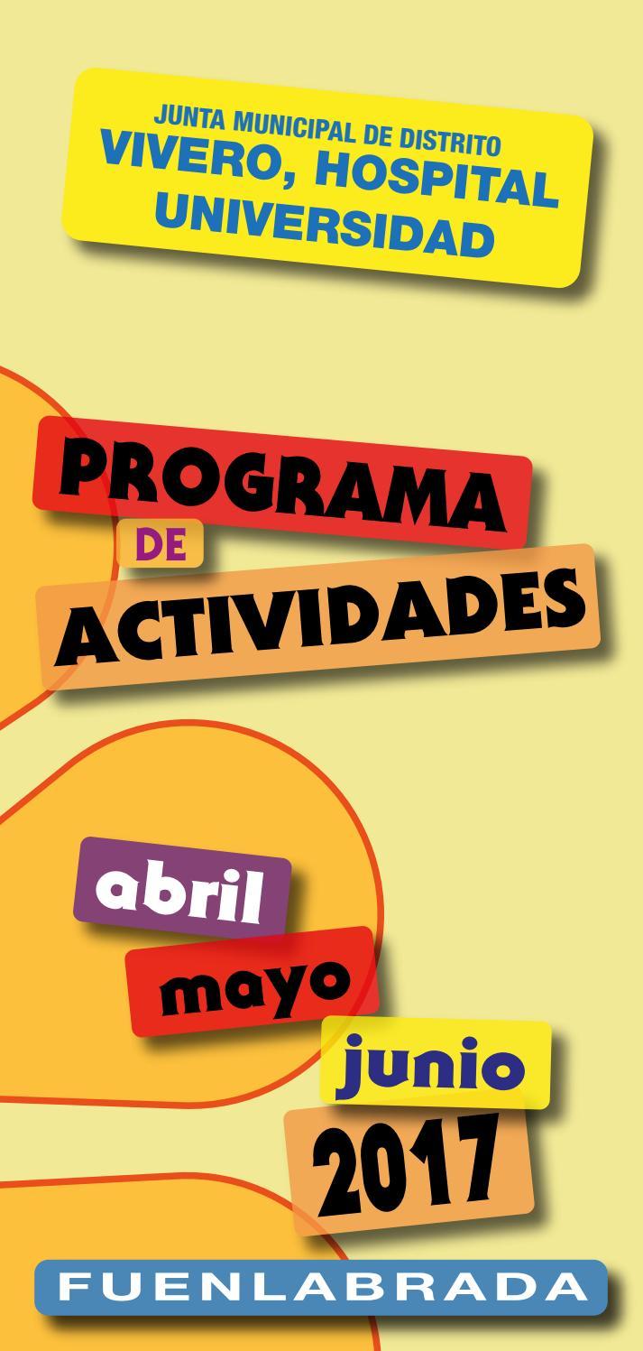 Programa de actividades jmd vivero hospital universidad for Vivero fuenlabrada