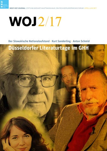 West Ost Journal 2 2017 By Stiftung Gerhart Hauptmann Haus Issuu