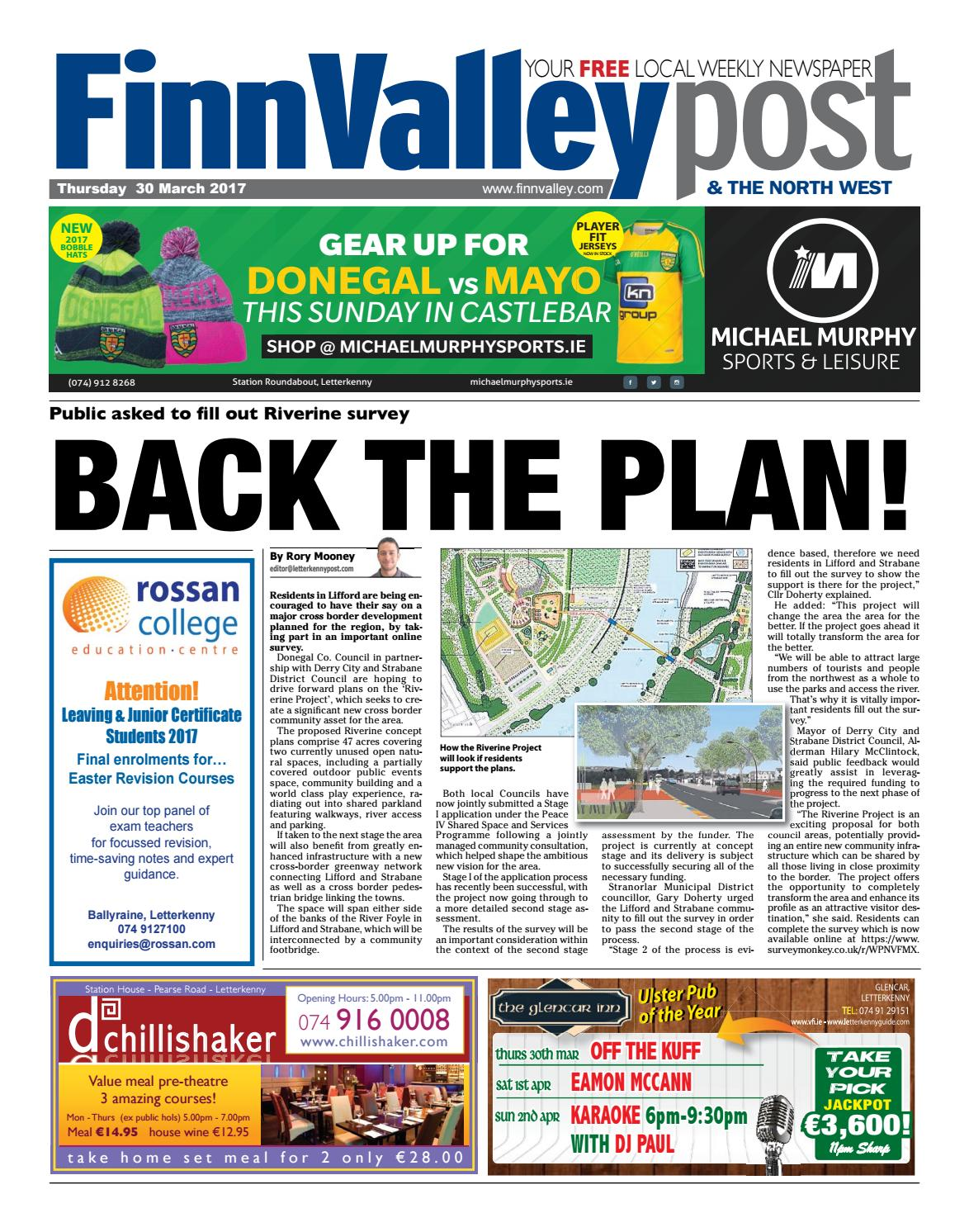 cbf566c44e Finn valley post 30 03 17 by River Media Newspapers - issuu