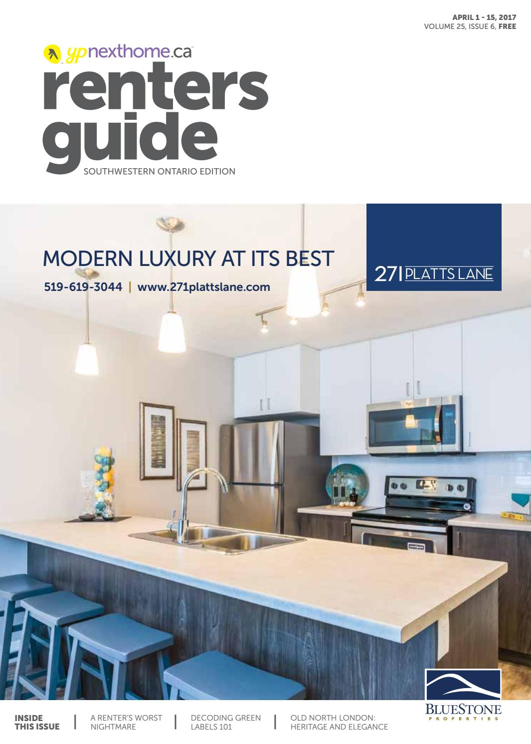 South Western Ontario Renters Guide - Apr 1, 2017 by NextHome - issuu