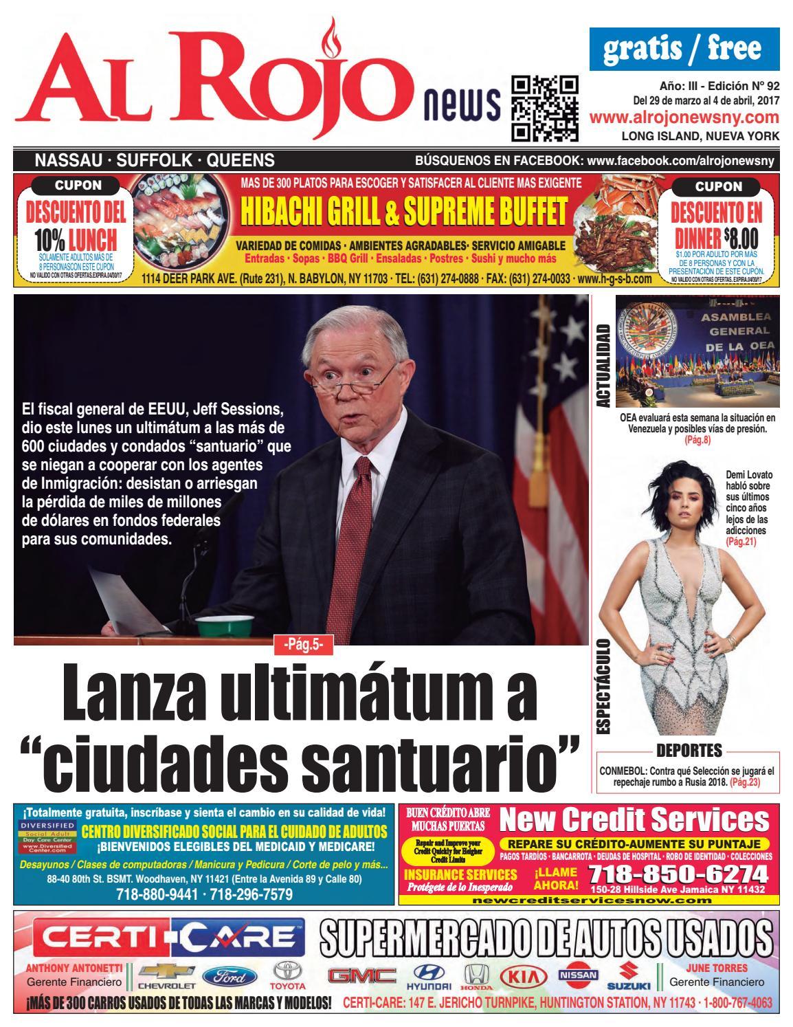 Al Rojo News año III edición 92 by Jose Rivas - issuu