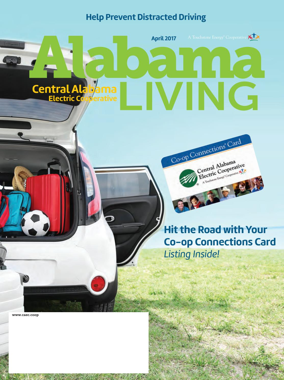 Central Alabama Electric Cooperative April 2017 by Alabama Living - issuu