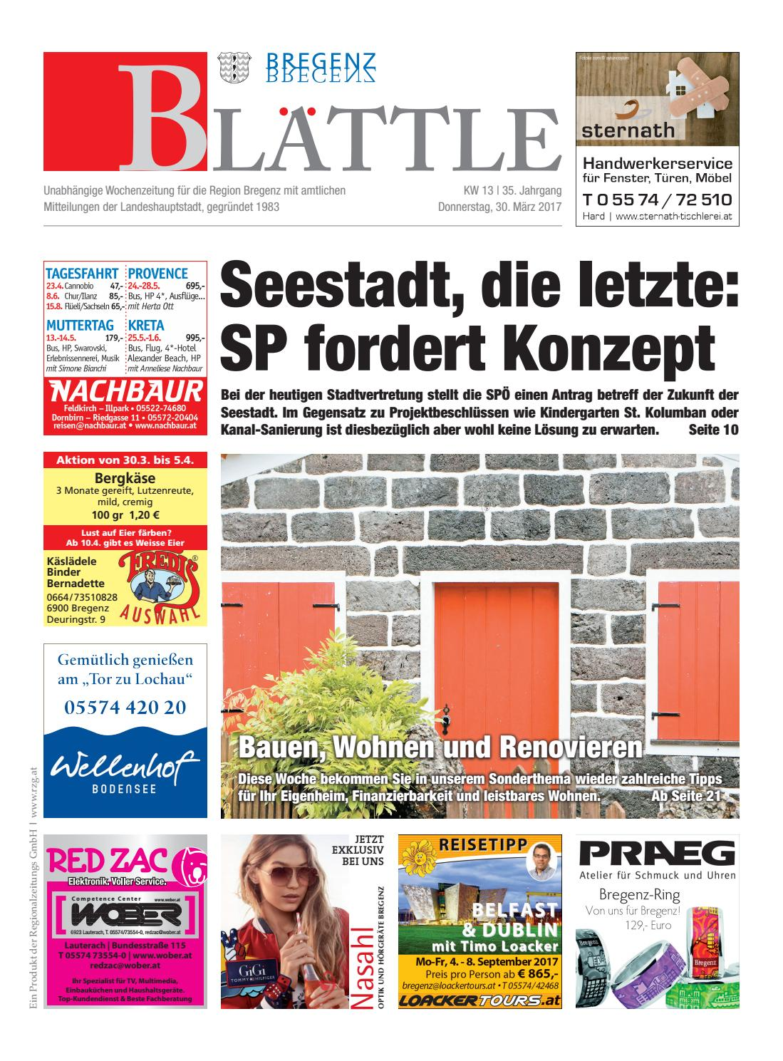 Bregenzer blättle 13 by Regionalzeitungs GmbH - issuu