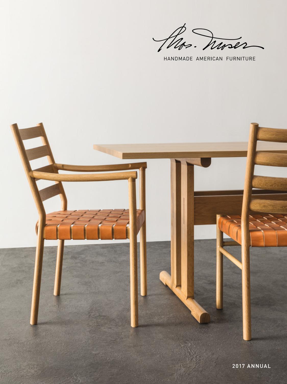Thos Moser Annual Catalog 2017 By Thos Moser Handmade American Furniture Issuu