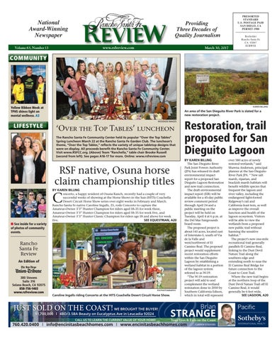 49d051aef37 Rancho santa fe review 03 30 17 by MainStreet Media - issuu