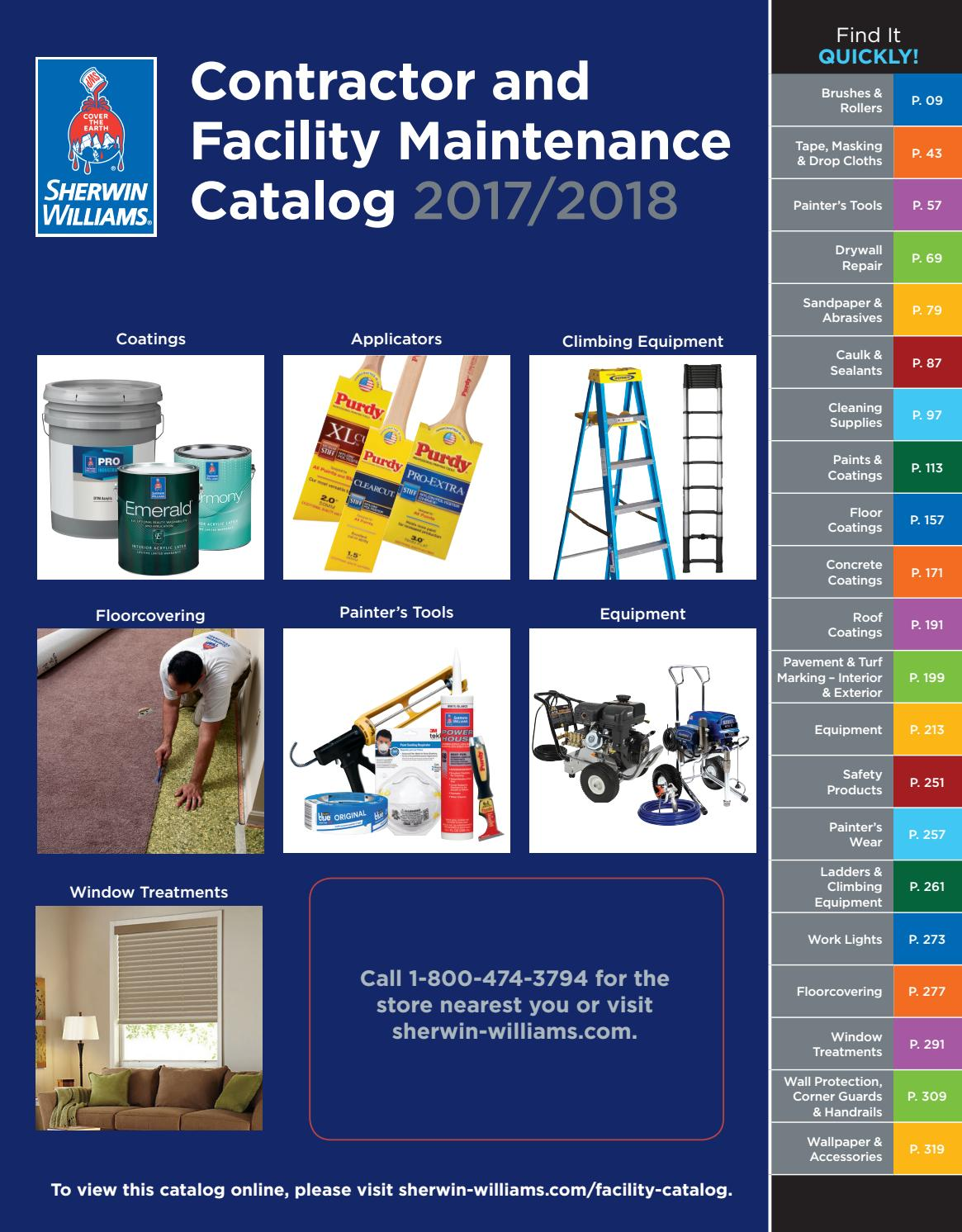 Sherwin Williams Contractor And Facility Maintenance Catalog By Premier Thermostat Wire 20 Gauge 5 250 Ft Vinyl Jacket Issuu