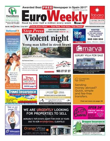Euro Weekly News Costa Blanca North 30 March 5 April