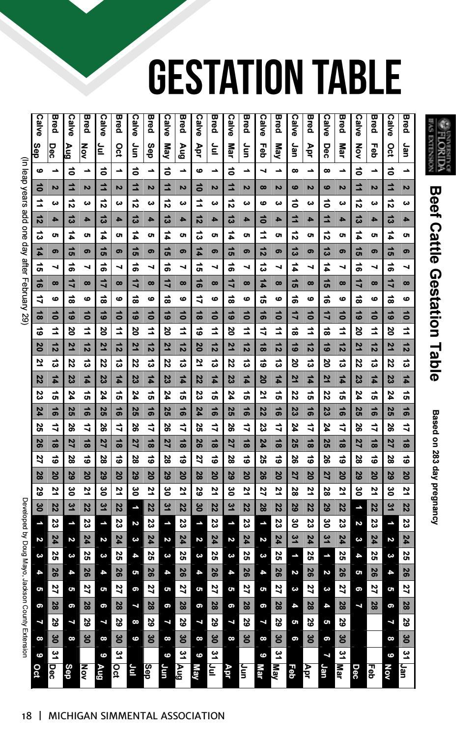 Michigan Simmental Association Breeders Directory 2017 2019
