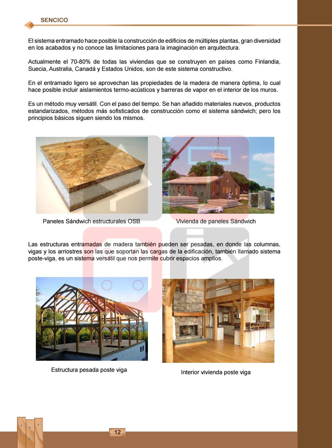 Manual de construcción de viviendas de madera by Fernando cobian Z ...