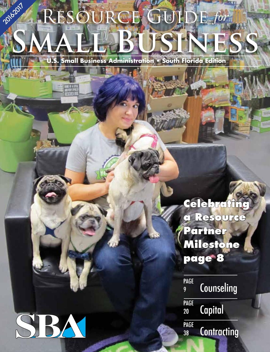 SBA Resource Guide for Small Business - South Florida 2016