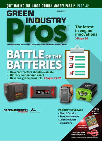 Green Industry Pros April 2017 by GreenIndustryPros com - issuu