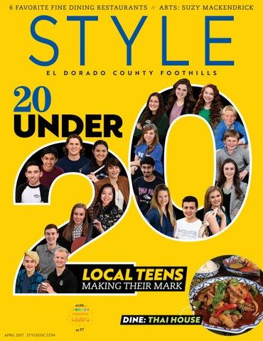 Style El Dorado County Foothills Apr 2017 By Style Media Group Issuu