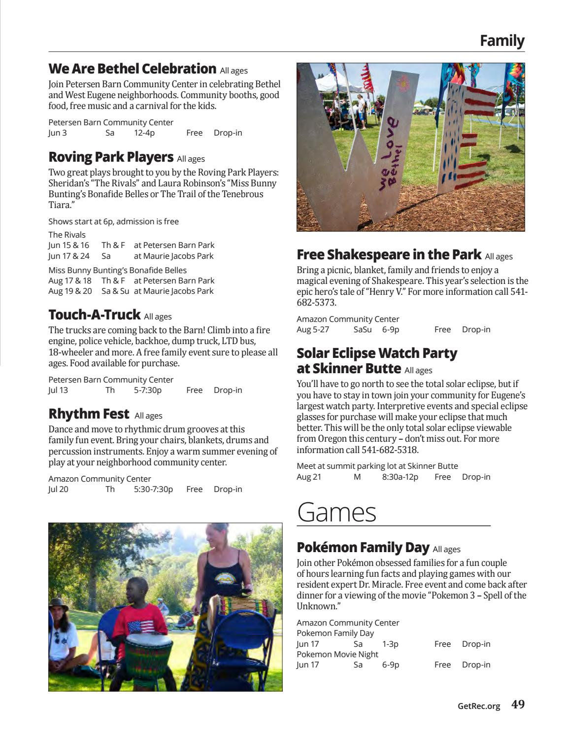 Summer 2017 Rec Guide by City of Eugene - issuu