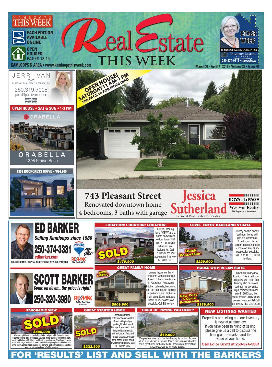 real estate this week march 31 2017 by kamloopsthisweek issuu