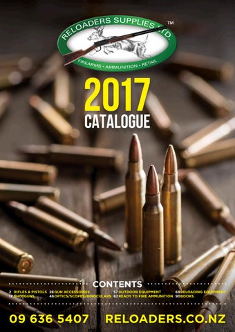 Reloaders Catalogue 2017 by Hurst Media Ltd - issuu