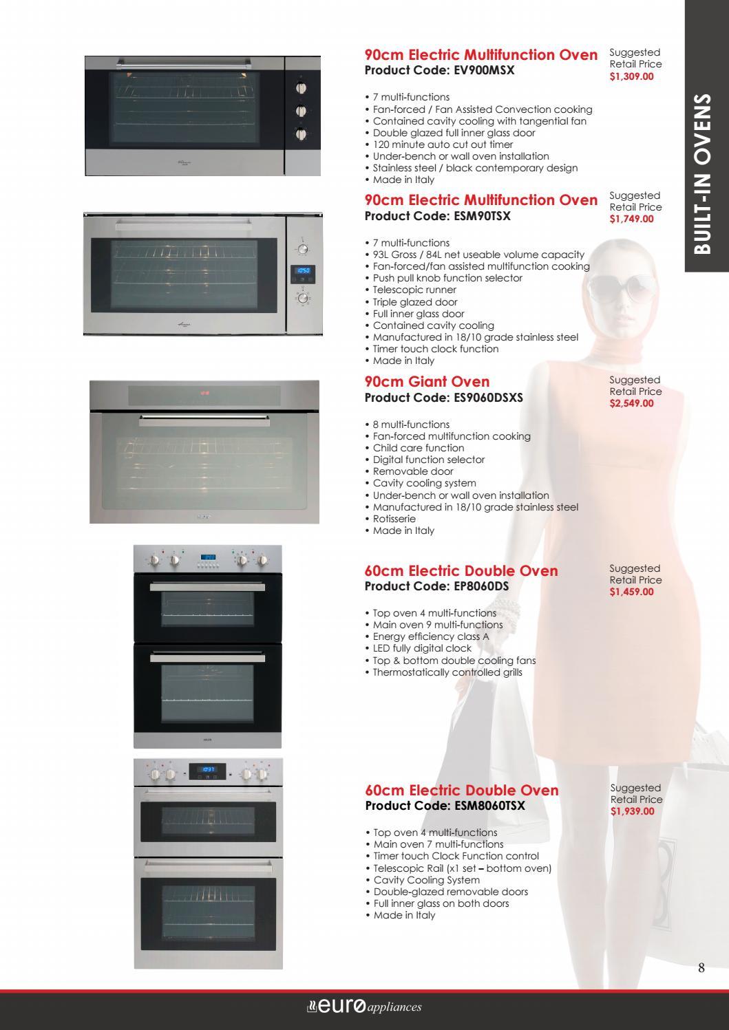 Euro Appliances Selection Booklet April 2017 By Euro