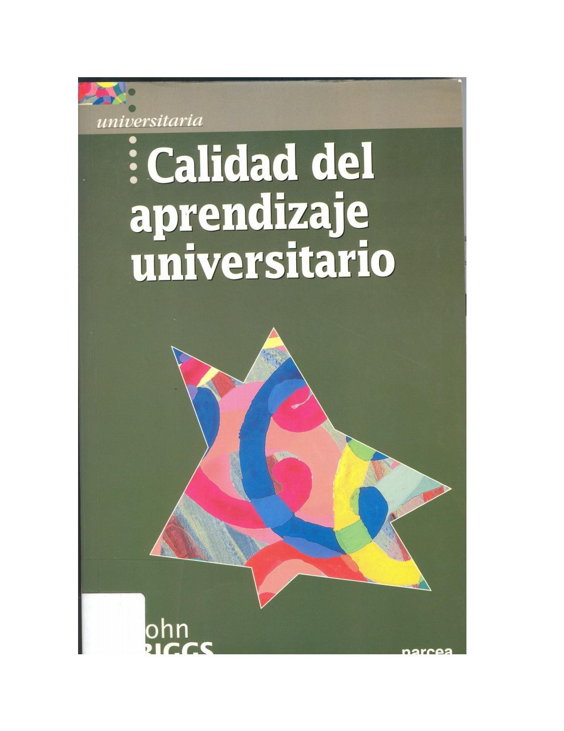 calidad de aprendizaje by Jairo Alejandro Espejo Mendoza - issuu