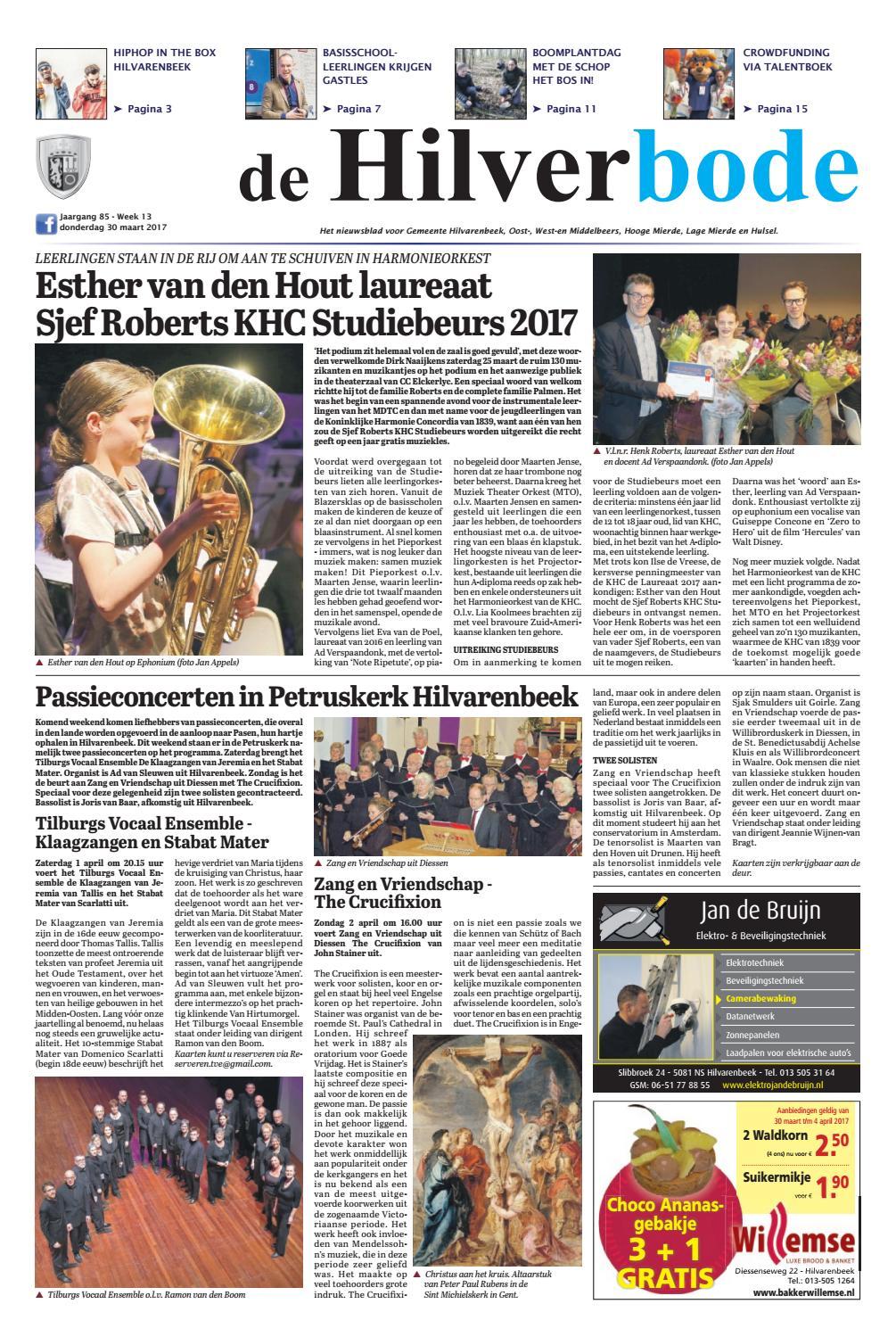 De Hilverbode 30 03 2017 By Uitgeverij Em De Jong Issuu