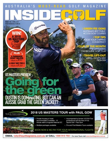 huge selection of 65539 f1806 Inside Golf April 2017 by Inside Golf - issuu