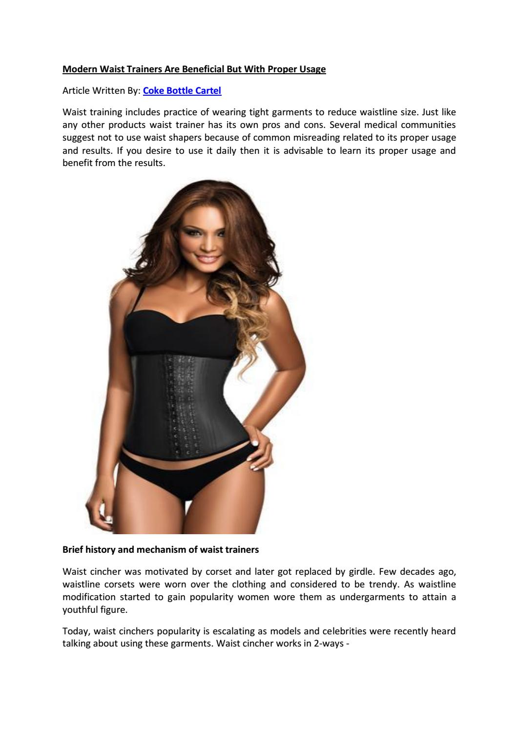 3c856b68435 Modern waist trainers are beneficial but with proper usage by REYES FLORES  - issuu