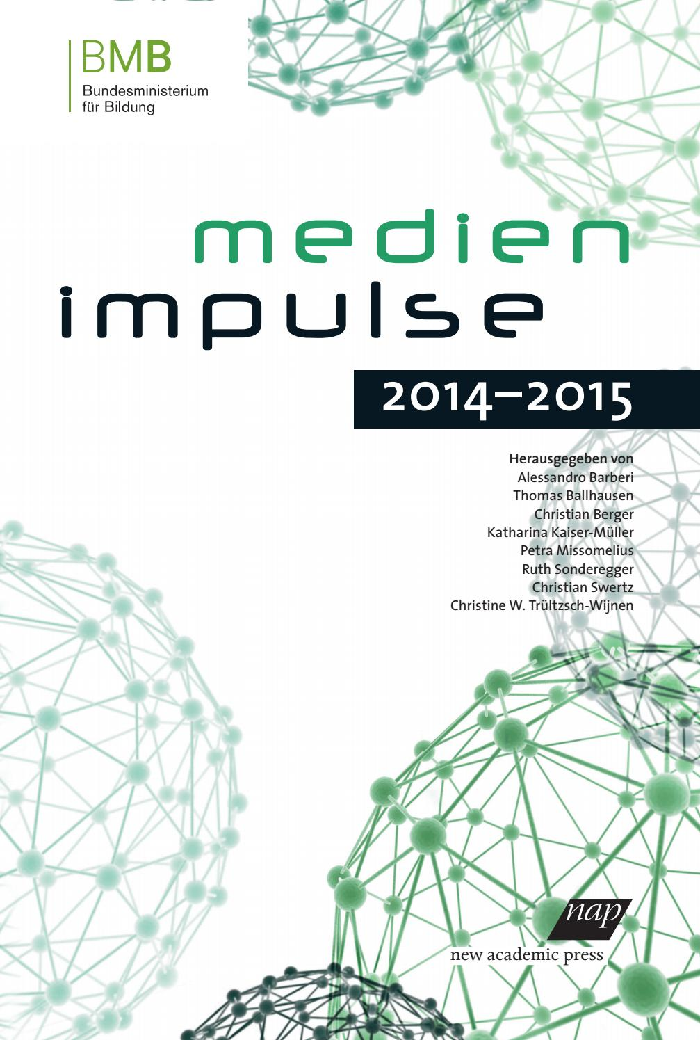 Medienimpulse 2014 2015 by Alessandro Barberi - issuu
