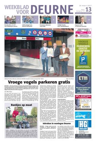 b0b134d7f57 Weekblad voor Deurne wk13 by Das Publishers! - issuu