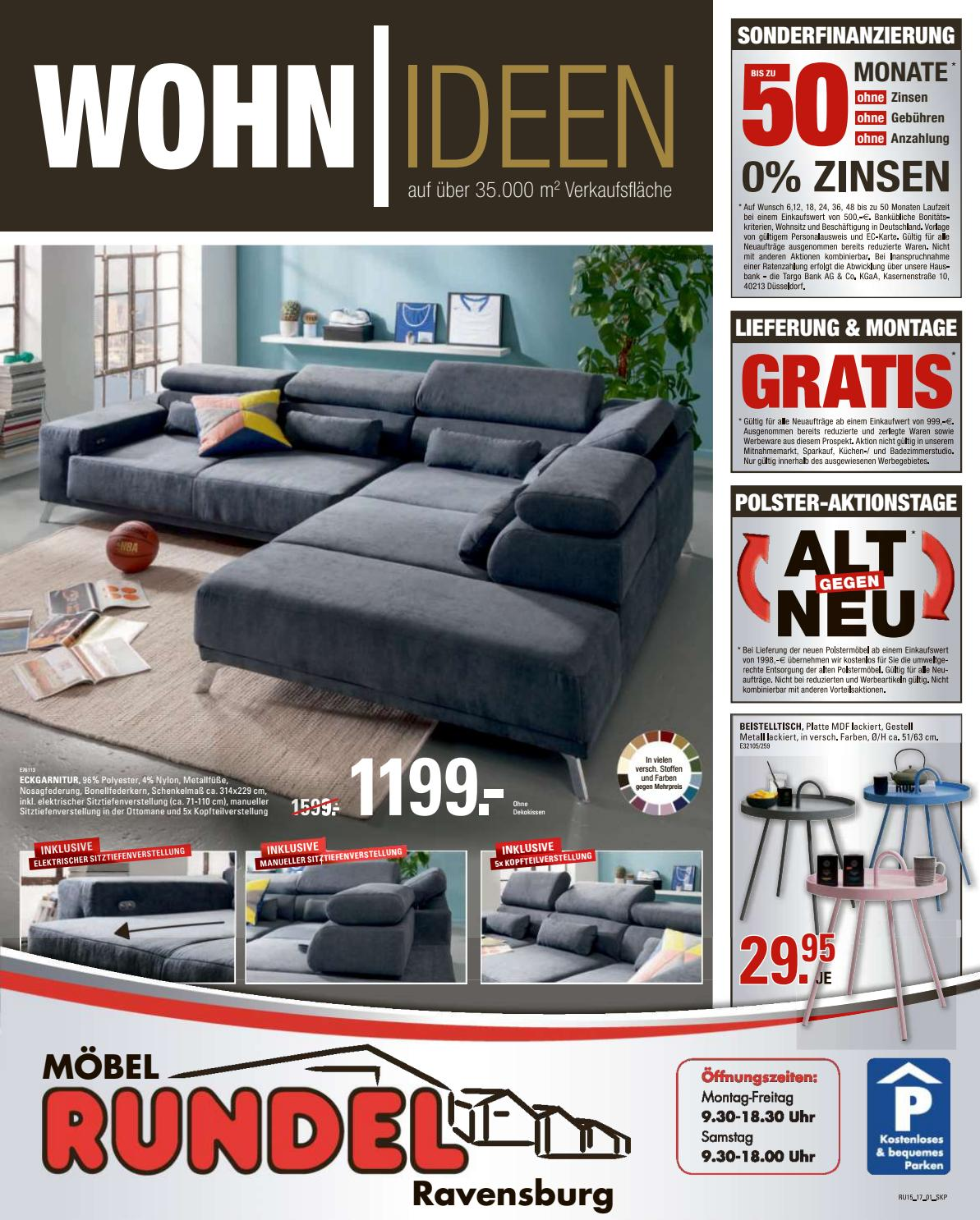 moebel rundel kw15 by russmedia digital gmbh issuu. Black Bedroom Furniture Sets. Home Design Ideas
