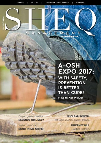 SHEQ Issue 2 2017 By Charmont Media Global