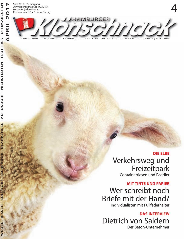 Kloenschnack April 2017 by Hamburger Klönschnack - issuu